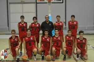 Baloncesto Montemar Alicante - Cadete B 2015 2016