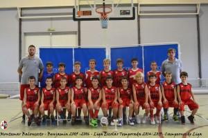 Montemar Baloncesto - Benjamin 2005 2006 - Liga Escolar 2014 2015 - Campeones de Liga (Large)