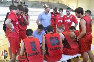 Baloncesto Montemar Alicante Senior A 2015 2016