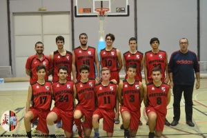 Junior A Baloncesto Montemar Alicante 2015 2016 D