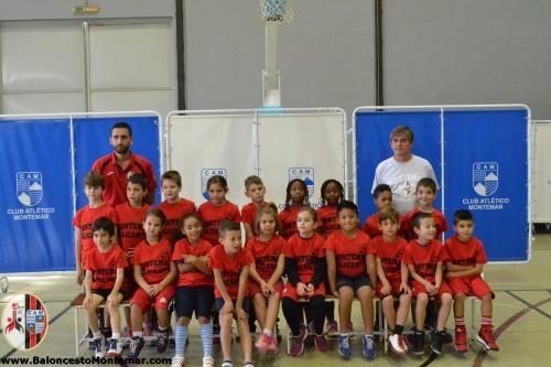 Baby Escuela - Balonceto C.A.Montemar 2015 2016 - Presentacion