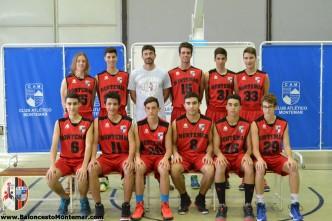 11.Cadete A - Balonceto C.A.Montemar 2015 2016 - Presentacion