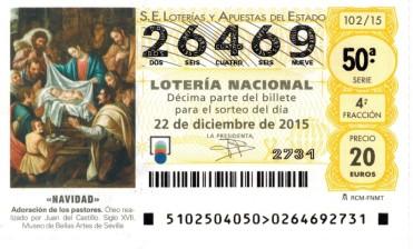 Decimo Loteria Navidad Baloncesto Montemar Alicante
