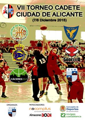 VII Torneo Cadete Ciudad de Alicante - Baloncesto C.A.Montemar Alicante