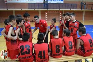Baloncesto C.A.Montemar Alicante Cantera Valores