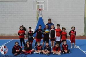 Baby Basket Escuela - Baloncesto C.A.Montemar Alicante 2016 _12
