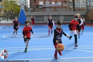 Baby Basket Escuela - Baloncesto C.A.Montemar Alicante 2016 _9