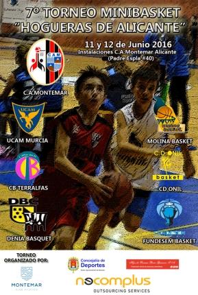 7º Torneo Alevín Hogueras de Alicante - Baloncesto C.A.Montemar Alicante