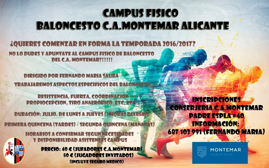 Campus Fisico - Baloncesto CA Montemar